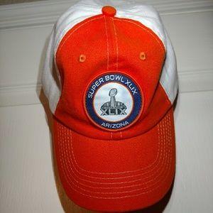 Super Bowl XLIX velcro strap cap